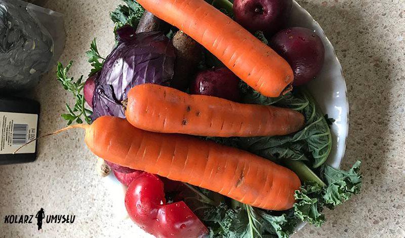 Sok energetyczny z warzyw i jabłka