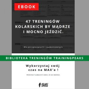 ebook 47 treningów + biblioteka TrainingPeaks